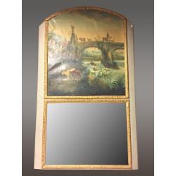 Grand Miroir Trumeau Style Louis XIV