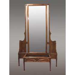 Grand Miroir Art-nouveau