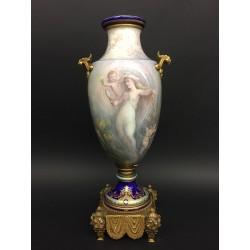 Vase Porcelaine Style Sévres