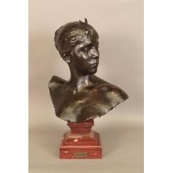 Buste De Diane Signé Falguiére (1831-1900)