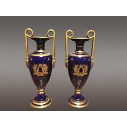 Vases Céramique De Tours Signés Peaudecerf