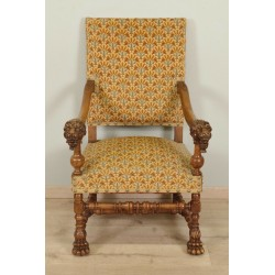 Fauteuil Style Louis XIII