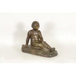 Bronze Diane Enfant Par E.Forestier