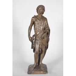 Bronze Saint Jean-Baptiste Cachet Collas
