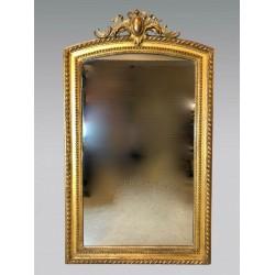 Miroir bois doré Napoléon III
