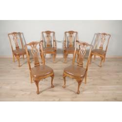 Chaises et fauteuils style Chippendale