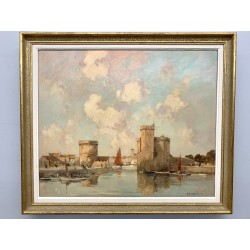 Ernest Vautherin - Le port de la Rochelle