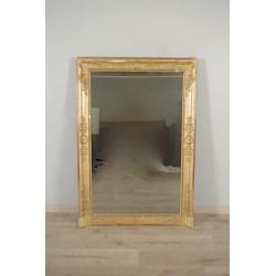 Miroir doré époque Empire
